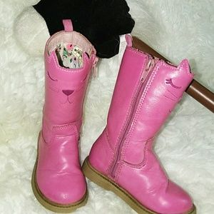 Carter's pink boots